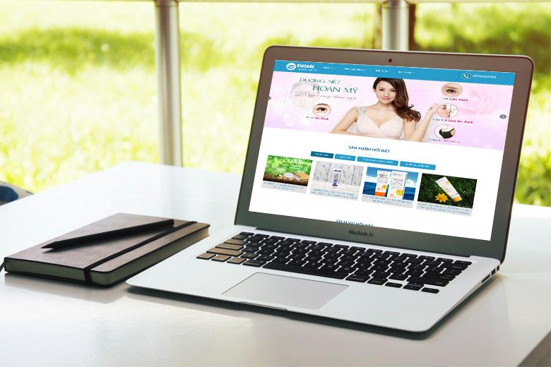 thiết kế website làm đẹp, thẩm mỹ, spa