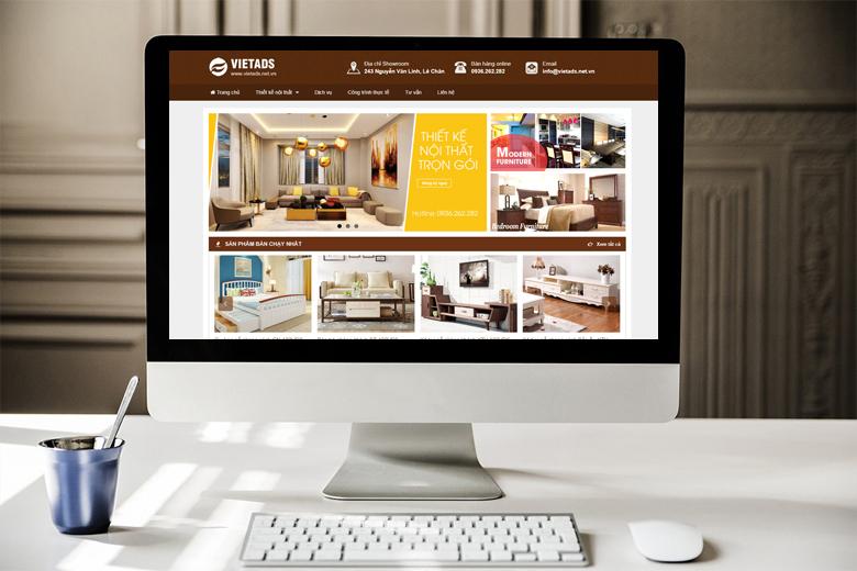 thiết kế web nội thất, kiến trúc đẹp